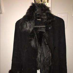 % GENUINE leather shearling jacket.