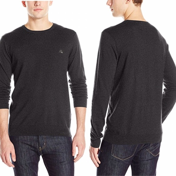 Quiksilver Mens Way Back Pullover Sweater