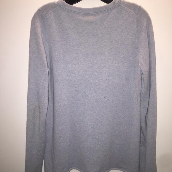 82% off J. Crew Sweaters - J. Crew Light Pale Blue Cashmere ...
