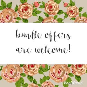 Bundle Offers Welcome!