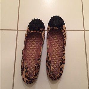 Sam Edelman Leopard Ballet Flats size 8.5.