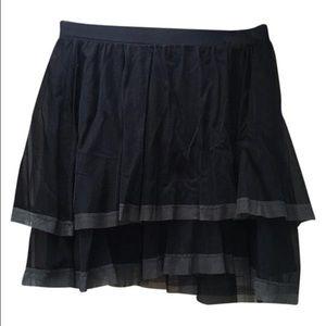 Black Free People Mini Skirt