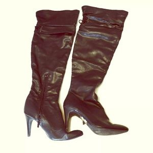 Nine West Shoes - Nine West Over the Knee Boots sz 10