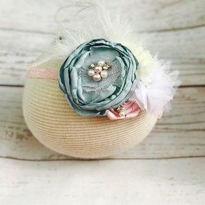 Other - Girls couture headband, flower headband
