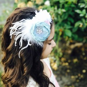 Other - Girls couture headband, flower headband