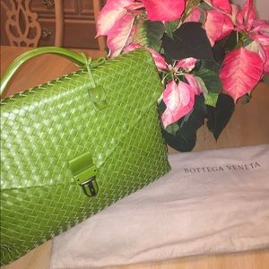 Bottega Veneta Handbags - RARE Bottega Veneta Men's VN Intreciatto Briefcase