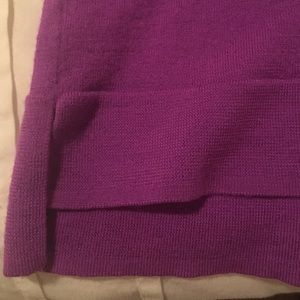 Sweaters - J crew sweater like new XS plum