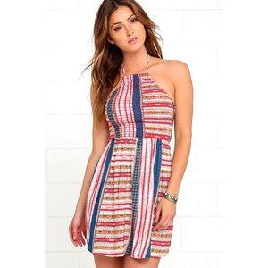 Lulu's Dresses & Skirts - S A L E◾️NWT Lulu's Backless Halter Dress