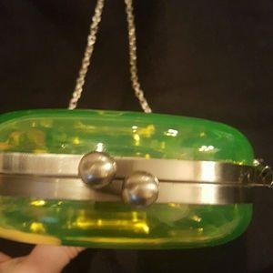 dollskill  Bags - NWOT Skull clutch purse