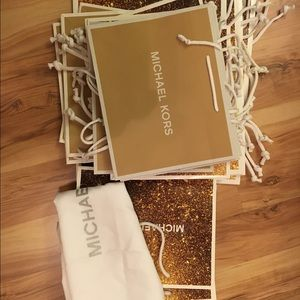 Michael Kors Handbags - 🛍MK Authenic gift bag brand new