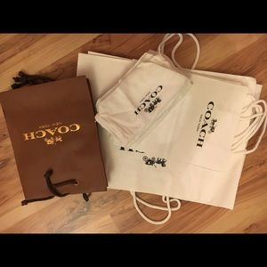 Coach Handbags - 🛍coach Authenic gift bag/dust bag