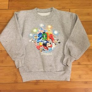 Hanes Other - Disneyland 2014 Grey Sweatshirt - S