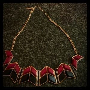 Steve Madden Jewelry - Street Chic Geometric Necklace