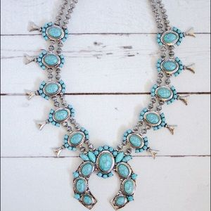 Jewelry - 🌵Squash Blossom Royal Necklace🌵
