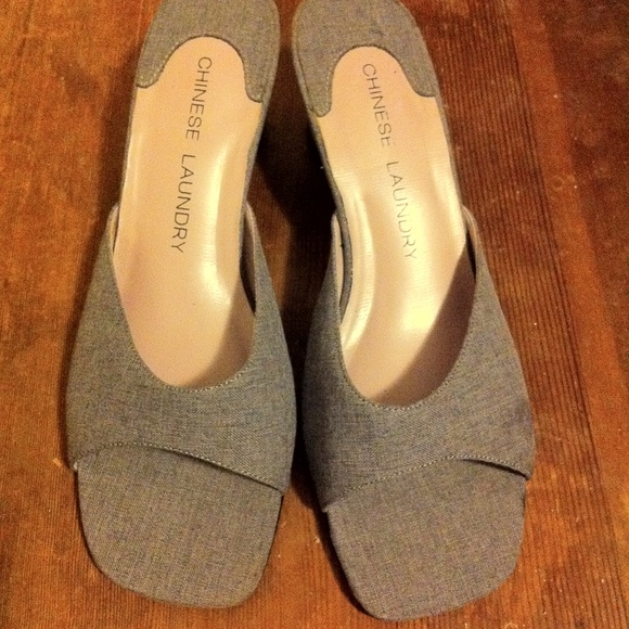 Chinese Laundry Shoes - Chinese Laundry low heel/mule