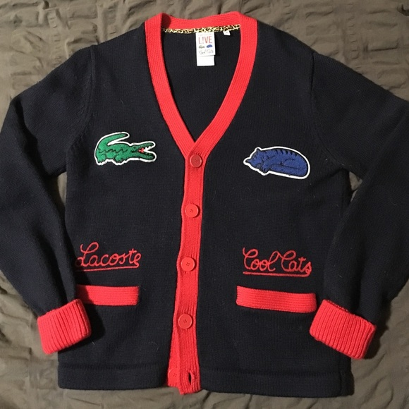 e0f370682 Lacoste Other - Lacoste cardigan sweater