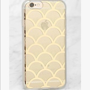 Sonix Gold Lace Clear iPhone 6/6s Case