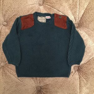 Zara Baby Boy Shoulder Patch Sweater