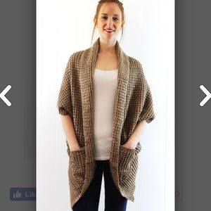 Sweaters - Chunky Knit Cardigan Sweater