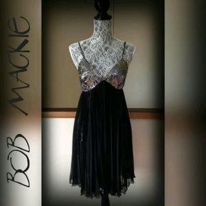 "Bob Mackie ""Wearable Art"" Dress Sz S"