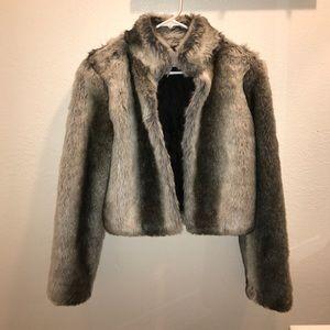 BCBGeneration Fur Jacket