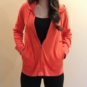 J. Crew Sweaters - ❗️SALE❗️⭐️orange zip up hoodie⭐️