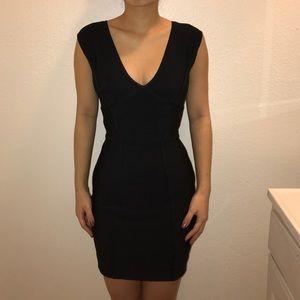 BCBG Maxazria Black Bandage Dress