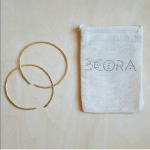 Beora Jewelry Jewelry - Beora Jewelry Brass Hoop Earrings