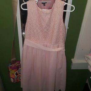 Zunie Other - High low pink dress sz8 new no tags