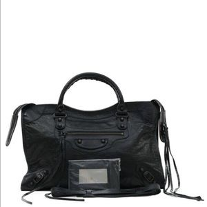 Balenciaga Handbags - Balenciaga classic city bag black leather NWT