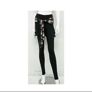 Blossom Pants - ☔ CHECKER PRINT DETAIL LEGGINGS ☔