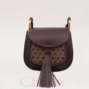Chloe Handbags - Chloe Small Hudson Studded Leather Shoulder Bag