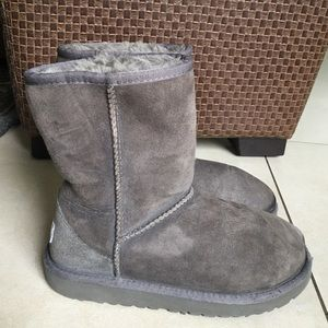 UGG Other - UGG Girl / Boy Short Gray Boots size 2