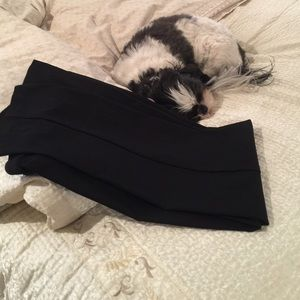 Attyre Pants - 12 Petite black stretch pants