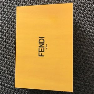 Fendi empty shoe box