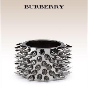 BURBERRY (no longer sold) spike metal bangle