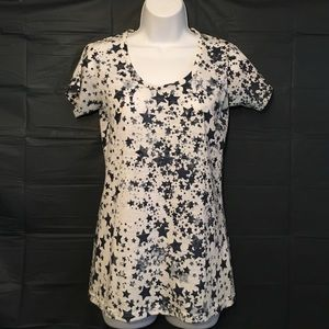 Central Park West Tops - Very Cute Small Stars Tee