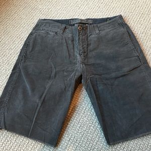 Original Paperbacks Other - Distressed cord shorts