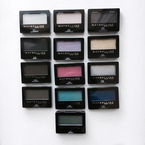 LOT of 13 Maybelline New York ExpertWear Eyeshadow