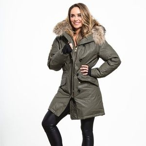 SAM. Jackets & Blazers - SAM  Double downtown army color jacket