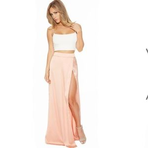 Silk Rush Maxi Skirt