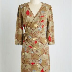 Vintage wrap dress from modcloth