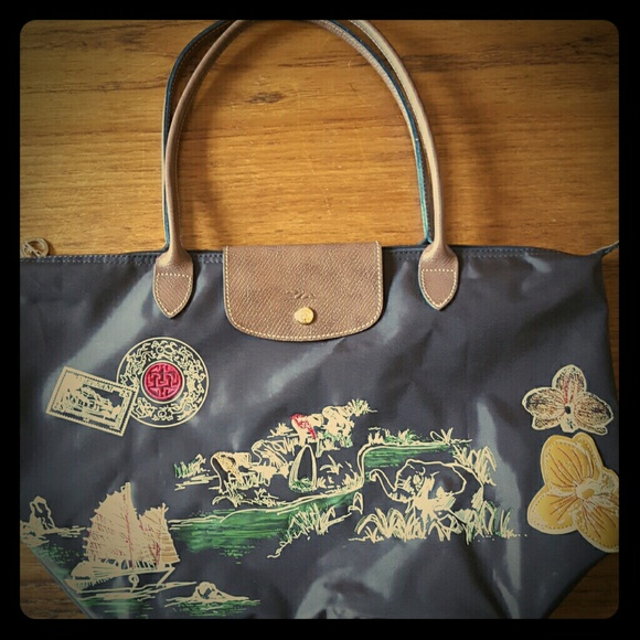 Longchamp Autour De Ha Long Large Bag