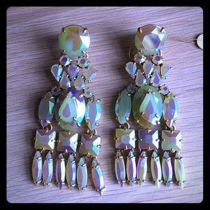 J. Crew Jewelry - J crew iridescent chandelier earrings