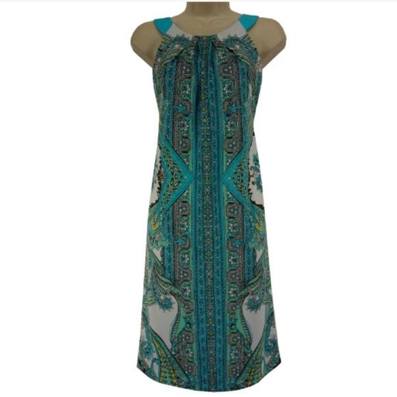 029dcca82e7c INC International Concepts Dresses & Skirts - Size XL *INC* HALTER PAISLEY  PRINT SHIFT