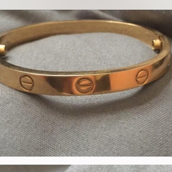 cd14a08c735e7 Faaqidaad : Cartier love bracelet small wrist