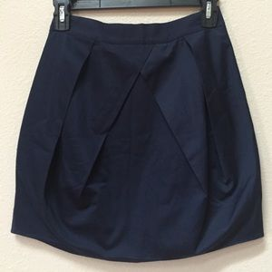 NWT J. Crew Lunette pleated mini skirt