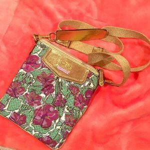Floral Coach crossbody bag!