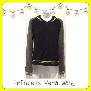 ⚫️ BOGO 1/2 OFF Princess Vera Wang Varsity Jacket