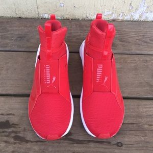 Puma Feroces Zapatos Rojos De Las Mujeres xpWaktH